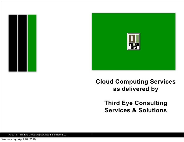 Cloud Computing Services                                                                        as delivered by           ...