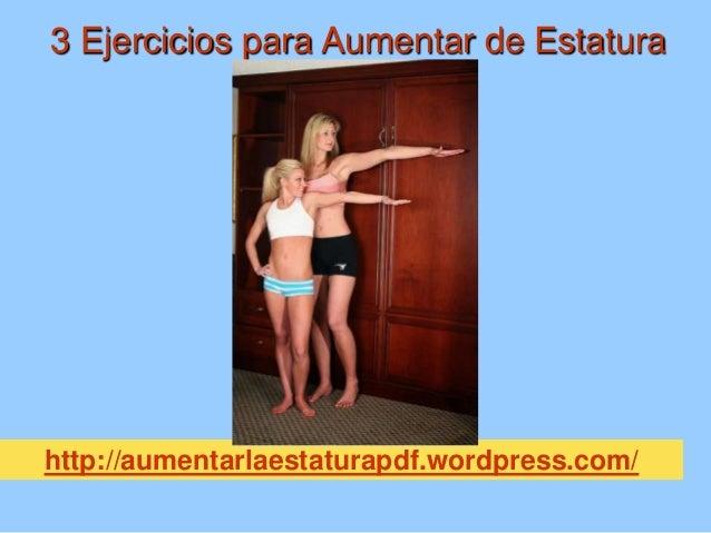 3 ejercicios para aumentar de estatura