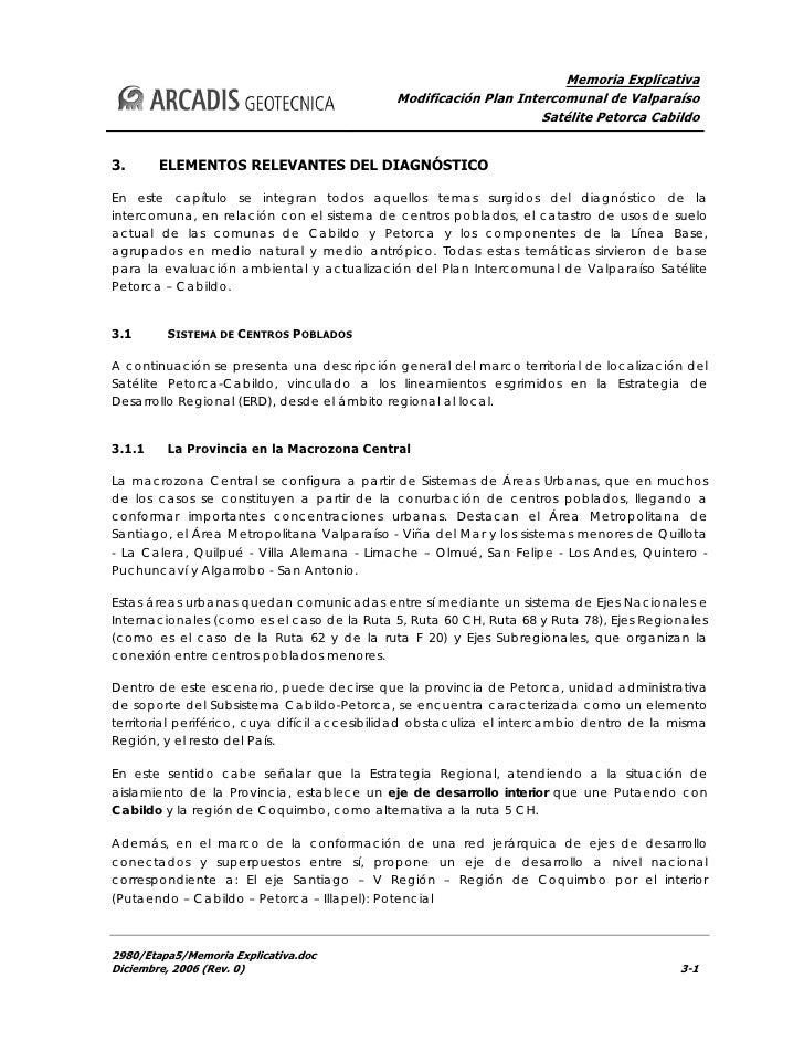 Memoria Explicativa                                             Modificación Plan Intercomunal de Valparaíso              ...