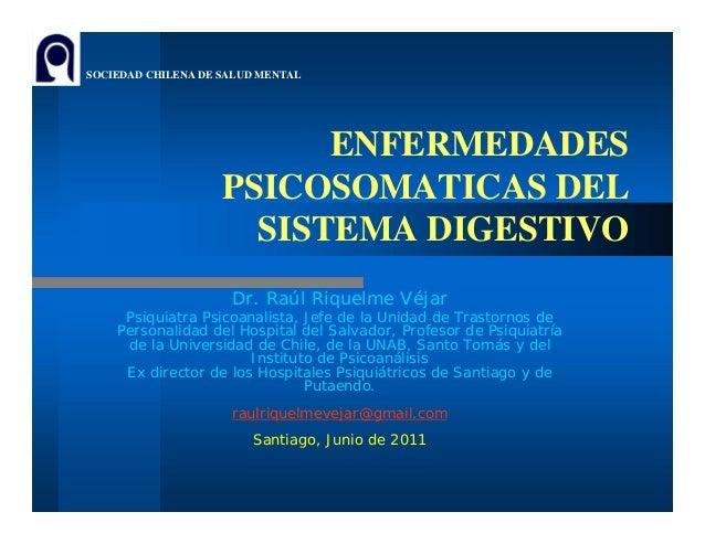(3) enf. psicosomiticas y enf. digestivas