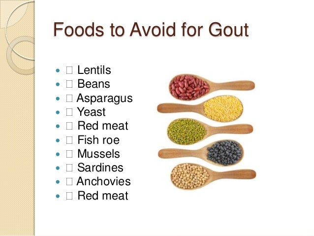 Gout diet sheet | Patient