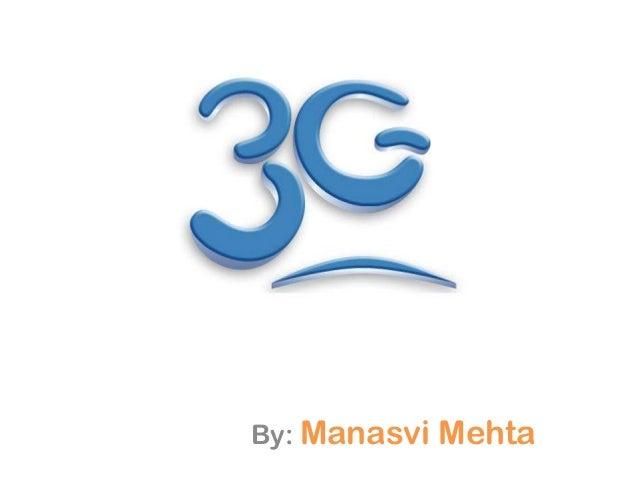 3GBy: Manasvi   Mehta