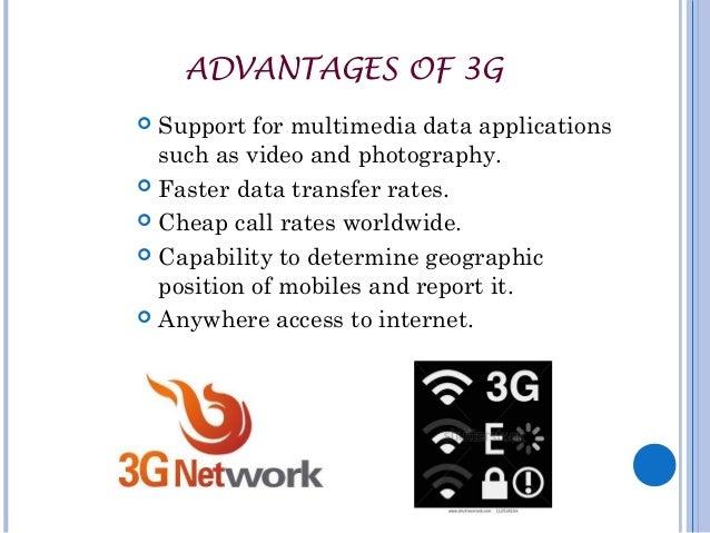 4g technology advantages and disadvantages