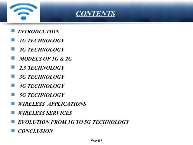 Research paper 3g technology