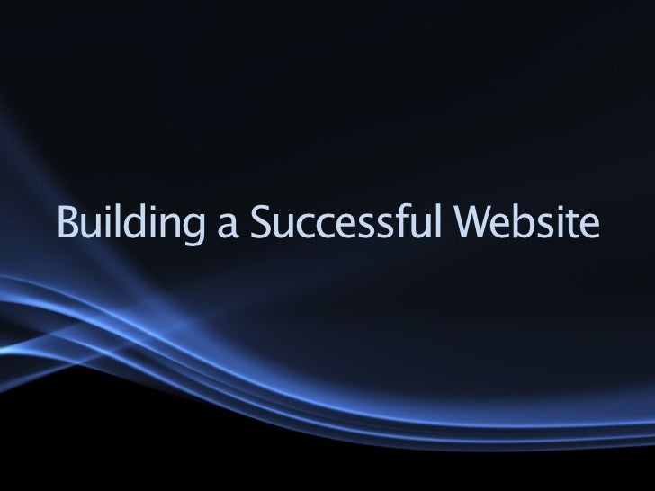 Building a Successful Website