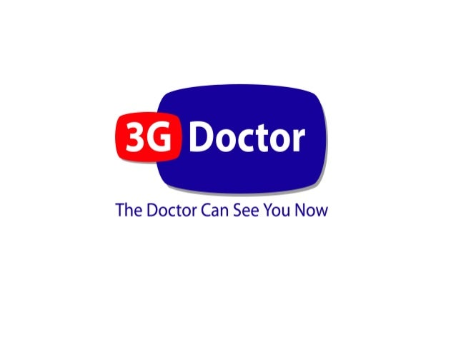 3GDoctor slide deck Health 20 Dublin Feb 2013