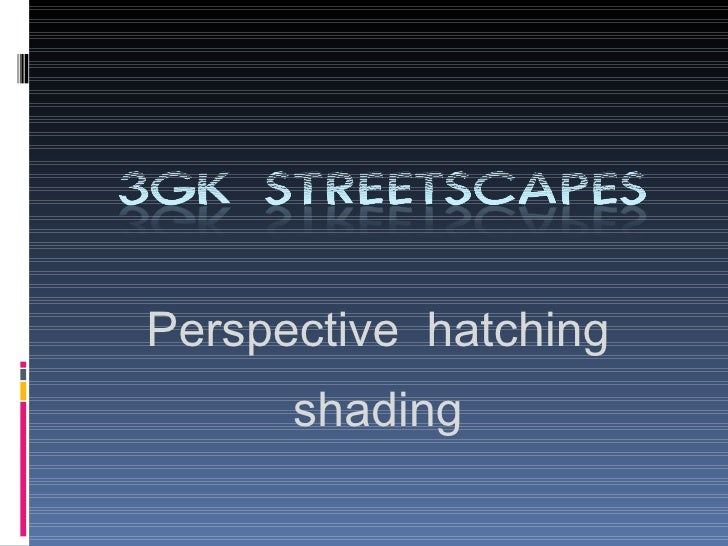 3GK Streetscapes