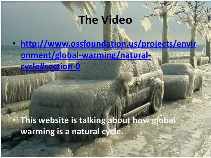 How is global warming