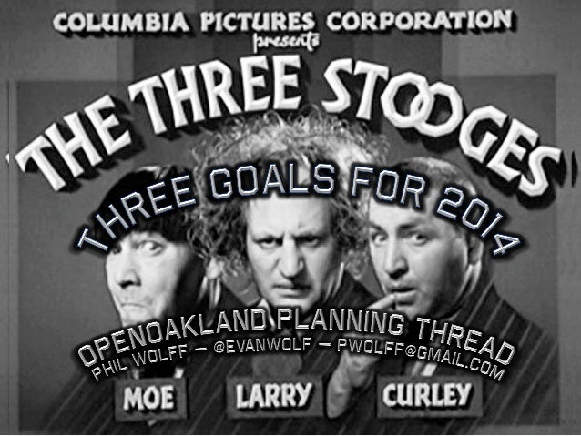 OpenOakland: 3 goals for 2014