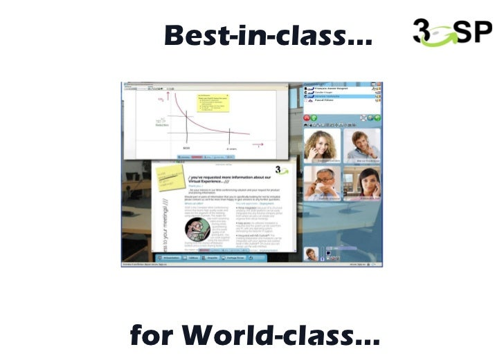 for World-class… Best-in-class…