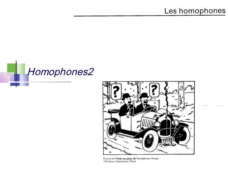 Homophones2