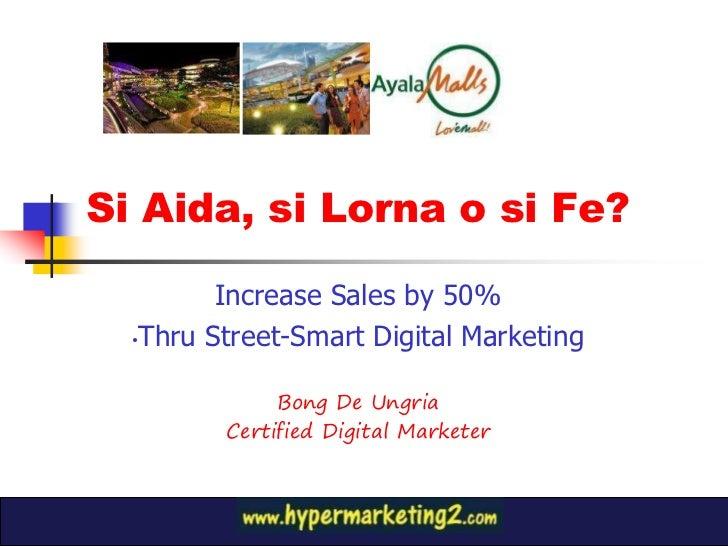 Increase retail sales through streetsmart digital segmentation ssv