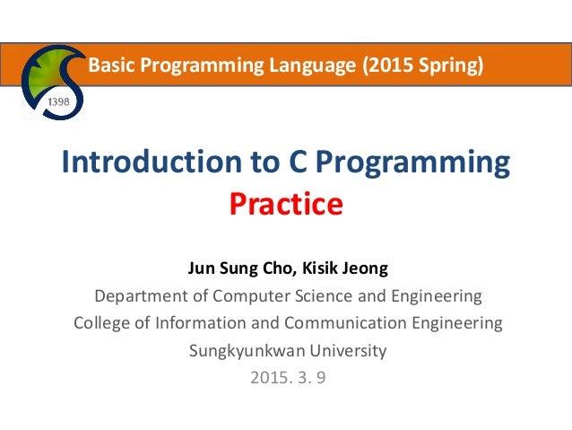 3 Intro C Programming Practice