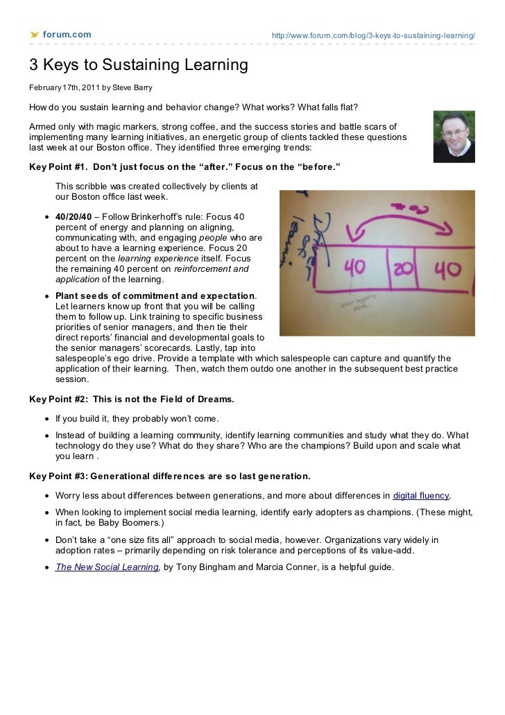 forum.com                                                  http://www.forum.com/blog/3-keys-to-sustaining-learning/3 Keys ...