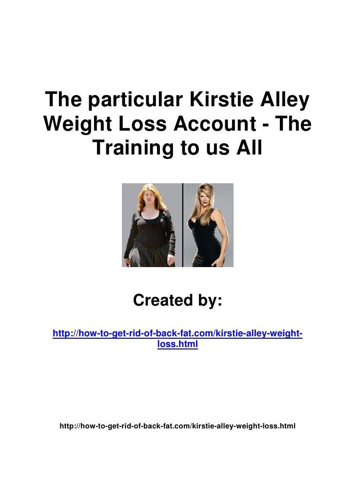 3kirstie alley weight loss