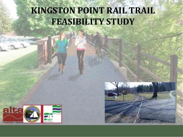Kingston Greenline & Ulster County Trails Summit - KPRT Feasibility Study