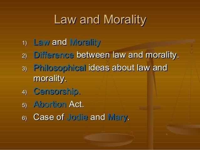 morality thesis