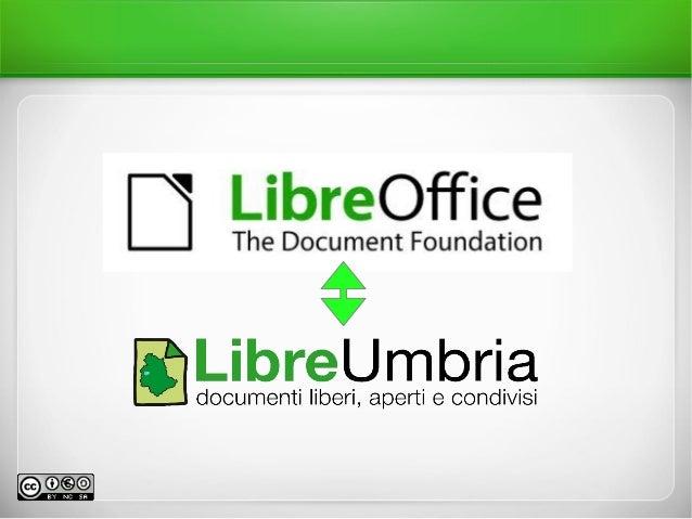 Terza lezione corso LibreOffice base