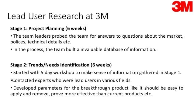 case study of innovation at 3m