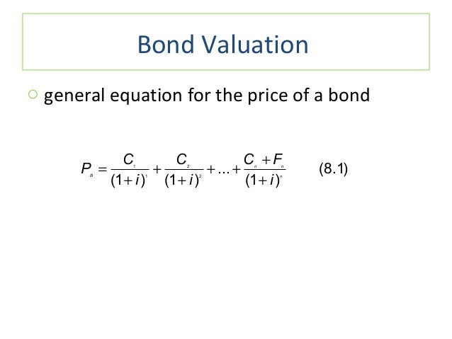 interest rates and bond valuation answer The answer has to do with the relative value of the interest that a specific bond  pays rising prices over time reduce the purchasing power of each interest.