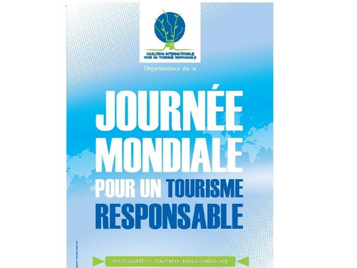 3 Assises internationales du tourisme èmes         durable et éthique                  Antananarivo 1er Juin 2012         ...
