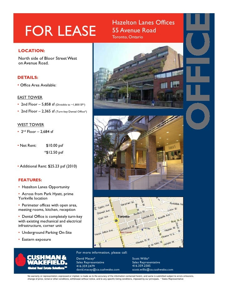 3 mid 1 may - Toronto Commercial Real Estate and office space for lease