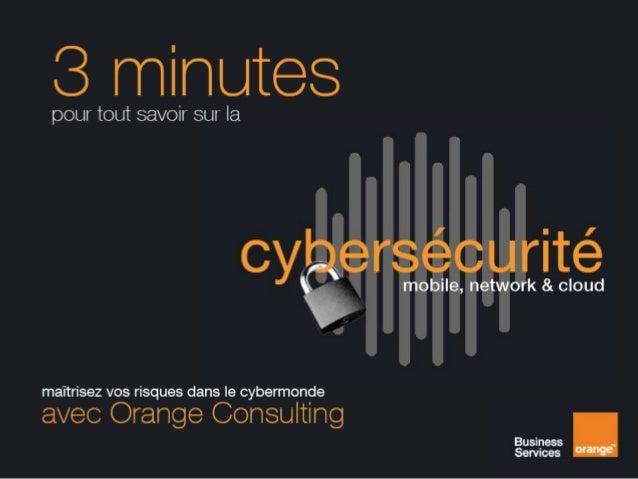 3 minutes pour tout savoir sur la cybersécurité
