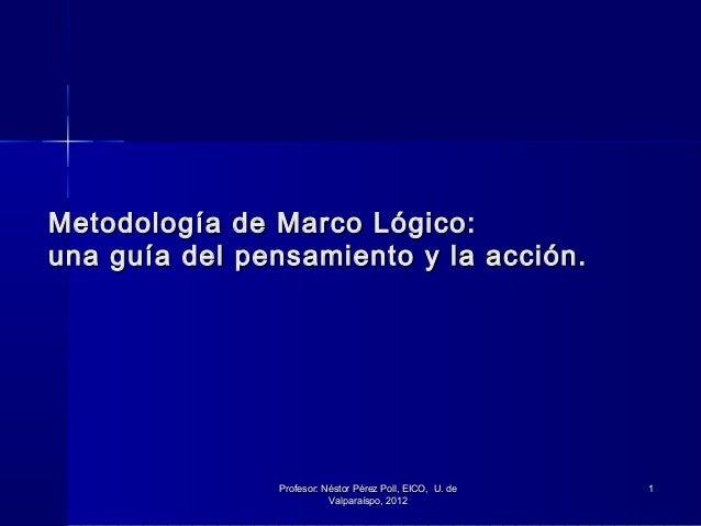 3 Metodología de Marco Lógico