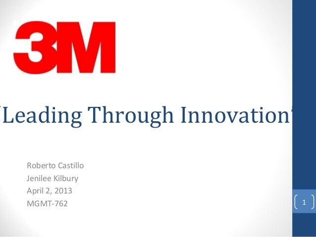 leading innovation at kelvingrove a case study