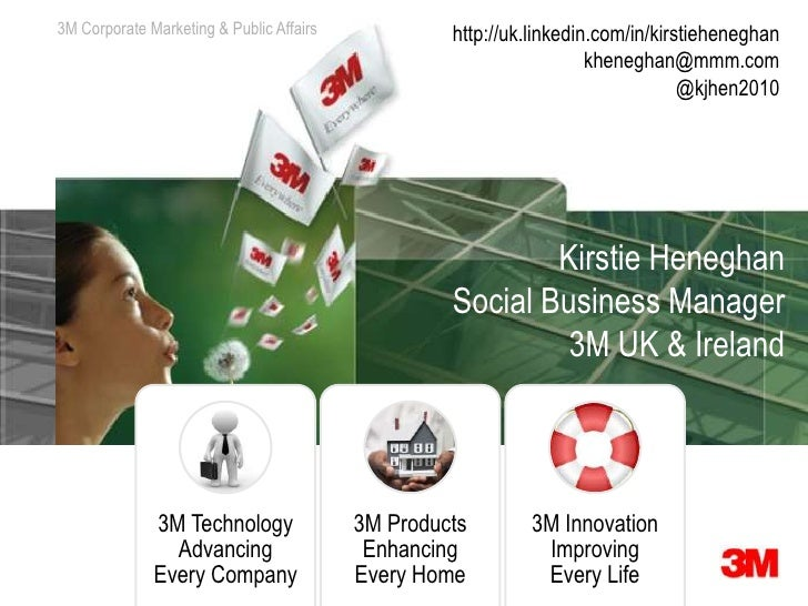 3M Corporate Marketing & Communications                         Public Affairs            http://uk.linkedin.com/in/kirsti...