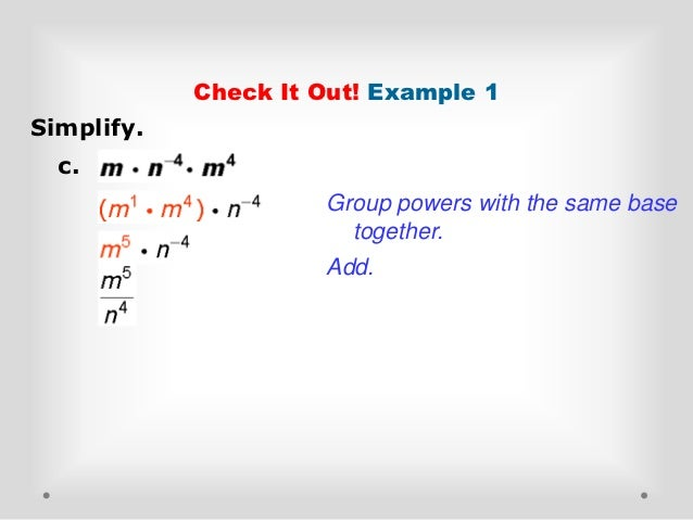 Division properties of exponents homework help – Division Property of Exponents Worksheet