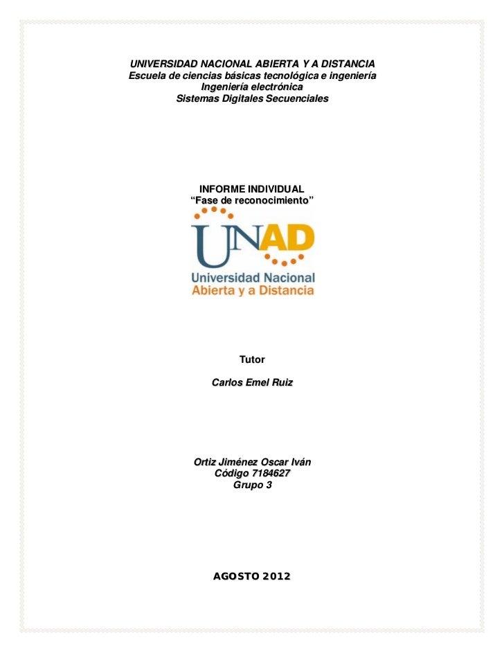 UNIVERSIDAD NACIONAL ABIERTA Y A DISTANCIAEscuela de ciencias básicas tecnológica e ingeniería               Ingeniería el...