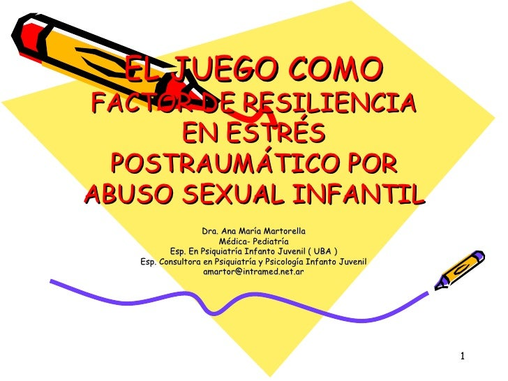 3 Paper Martorella El Juego Como Factor De Resiliencia En