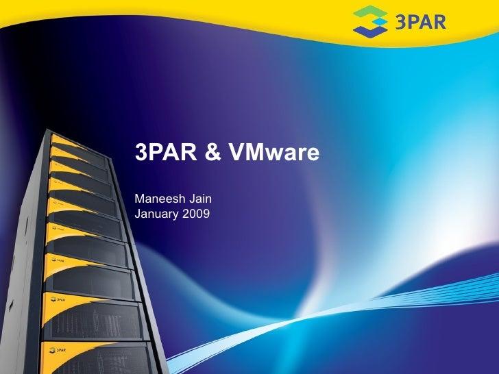 3PAR and VMWare