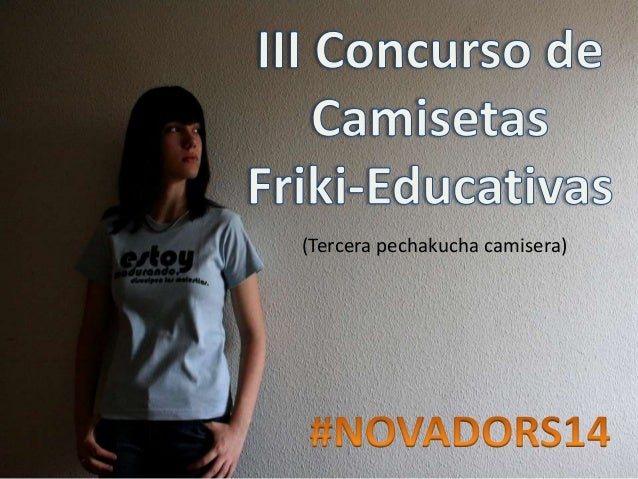 3r Concurso de Camisetas Friki Educativas Novadors14