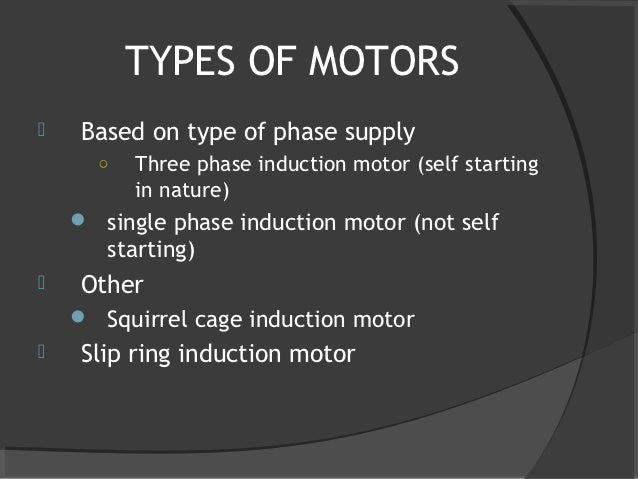 Construction of Three Phase Induction Motor