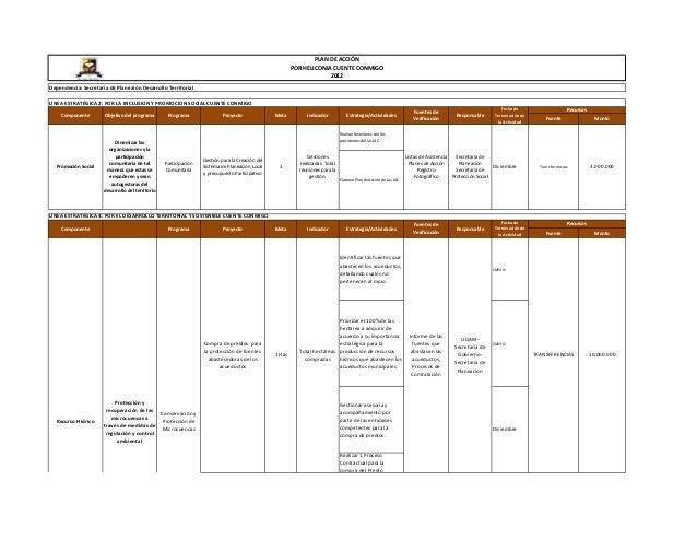 3 plan de acción   planeación