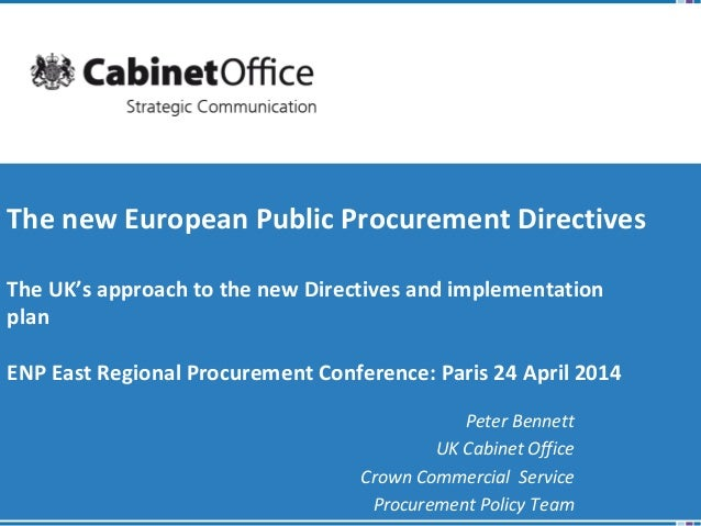 3 The new European Public Procurement Directives_English