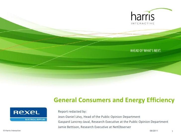 energy efficiency Rexel survey