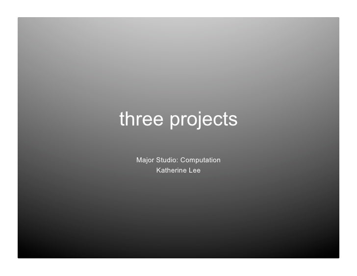 3projects
