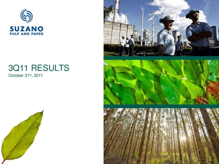 3Q11 Earnings Release Presentation - October 2011