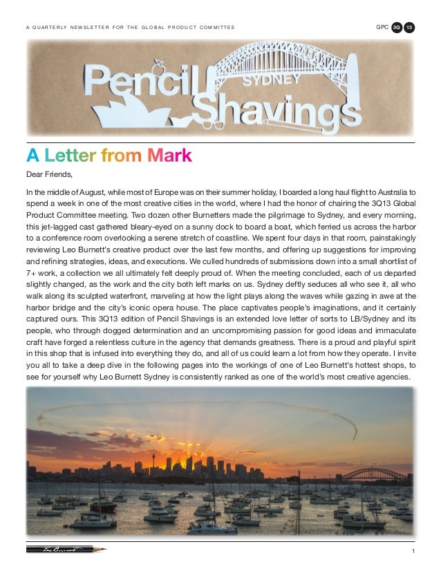 3Q13 Pencil Shavings