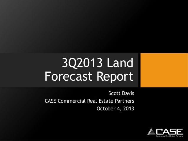 3Q2013 Houston Land Market Report