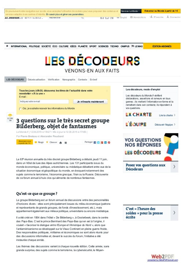 Datavisualisation Vérification Nanographix Contexte Enbref INTERNATIONAL POLITIQUE SOCIÉTÉ ÉCO CULTURE IDÉES PLANÈTE SPORT...