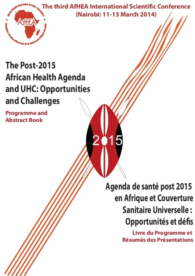 The 3rd African Health Economics and Policy Association conf abstract book
