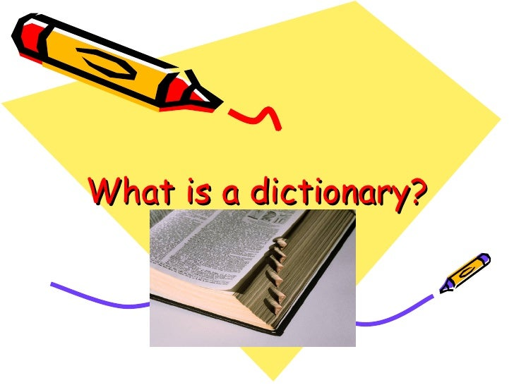 3rd Dictionary  & Guide Words