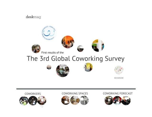 Global Coworking Survey 2012