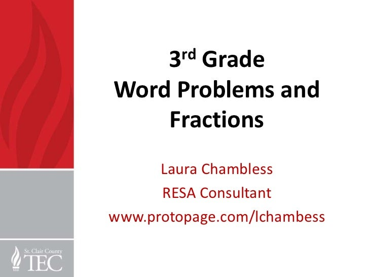 Number Names Worksheets word problems fractions worksheets – Problem Solving Fractions Worksheets