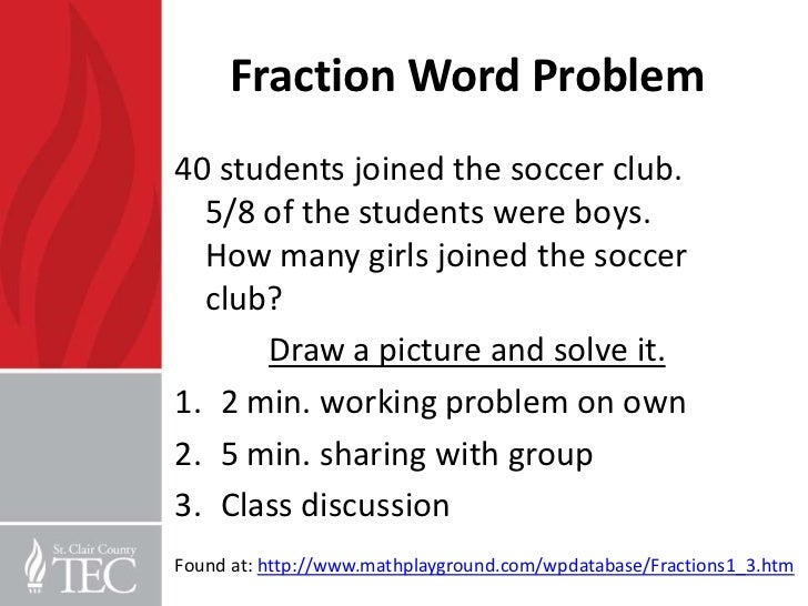 Comparing Fractions 3rd Grade Word Problems comparing fractions – Comparing Fractions Word Problems Worksheets