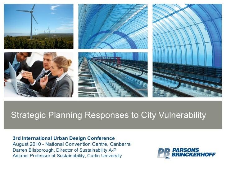 3rd Int Urban Design Conf
